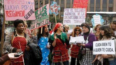 Empleadas de hogar piden que se blinden sus derechos y salir de la economía sumergida
