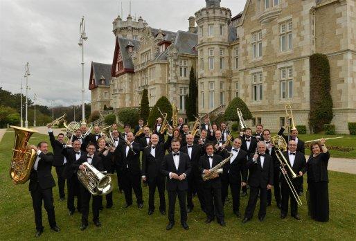 Banda Municipal de música de Santander. /ALERTA