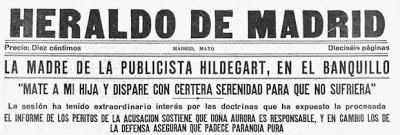 Publicación Heraldo de Madrid