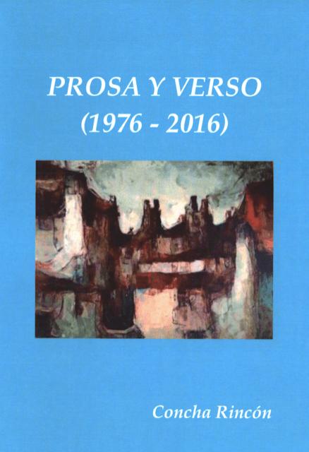 Prosa y Verso, de Concha Rincón
