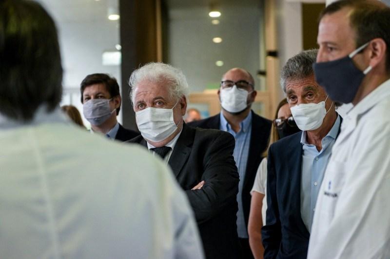 """Ginés advirtió por la suba de casos: """"La mitad de los argentinos vive en zonas de alto riesgo"""" - El Diario del centro del país"""