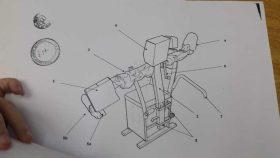El sillón es un aparato mecánico que ayuda a rehabilitar personas