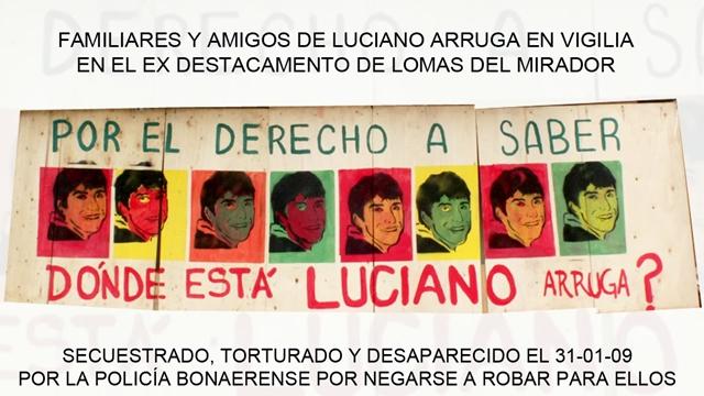 Vigilia por Luciano Arruga II