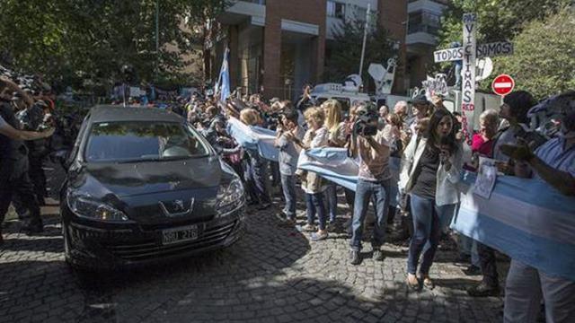 El ultimo adiós al fiscal Nisman 2
