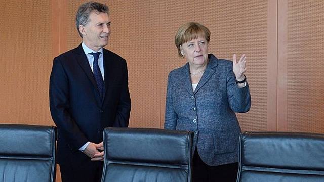 Macri Merkel XIX