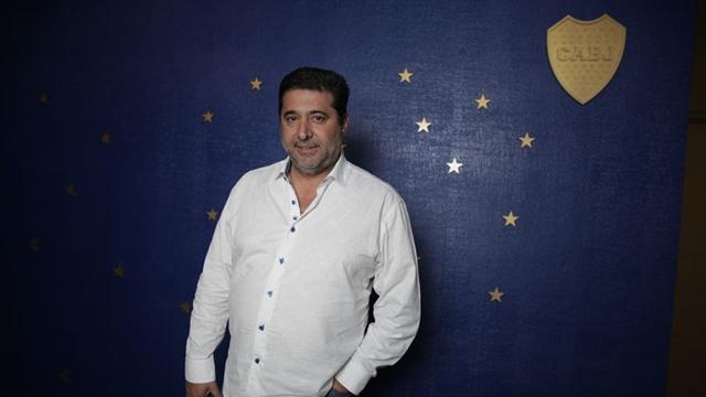 Entrevista a Daniel Angelici, presidente de Boca. En su oficina del club. FOTOS Soledad Aznarez