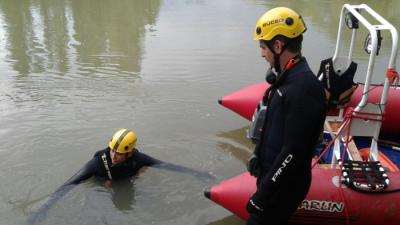 Se ahogó en el río Chubut intentando salvar a una mujer