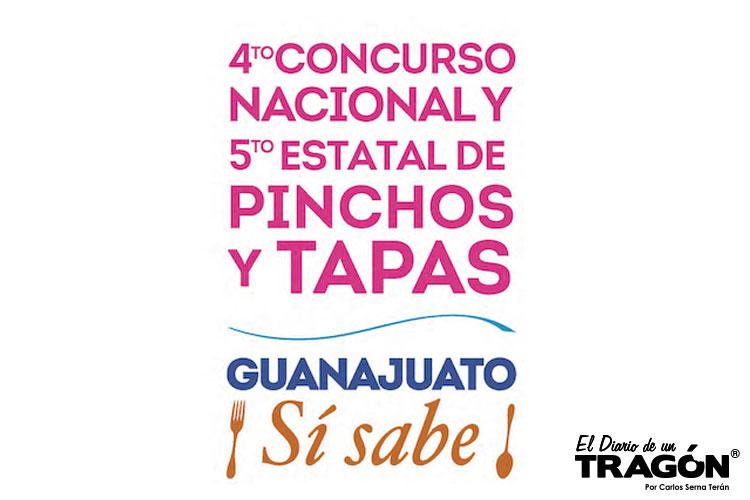 4º concurso nacional y 5º estatal de Pinchos y Tapas Guanajuato ¡Si Sabe!