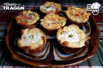 Muffin de huevo
