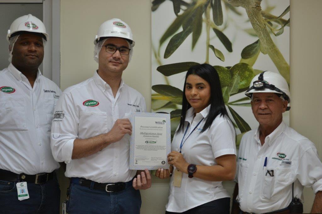 1. multigestiones ayax, s.a. recibió la certificación wells plastics limited