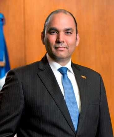 Enrique Ramírez Paniagua, administrador del Banco de Reservas.