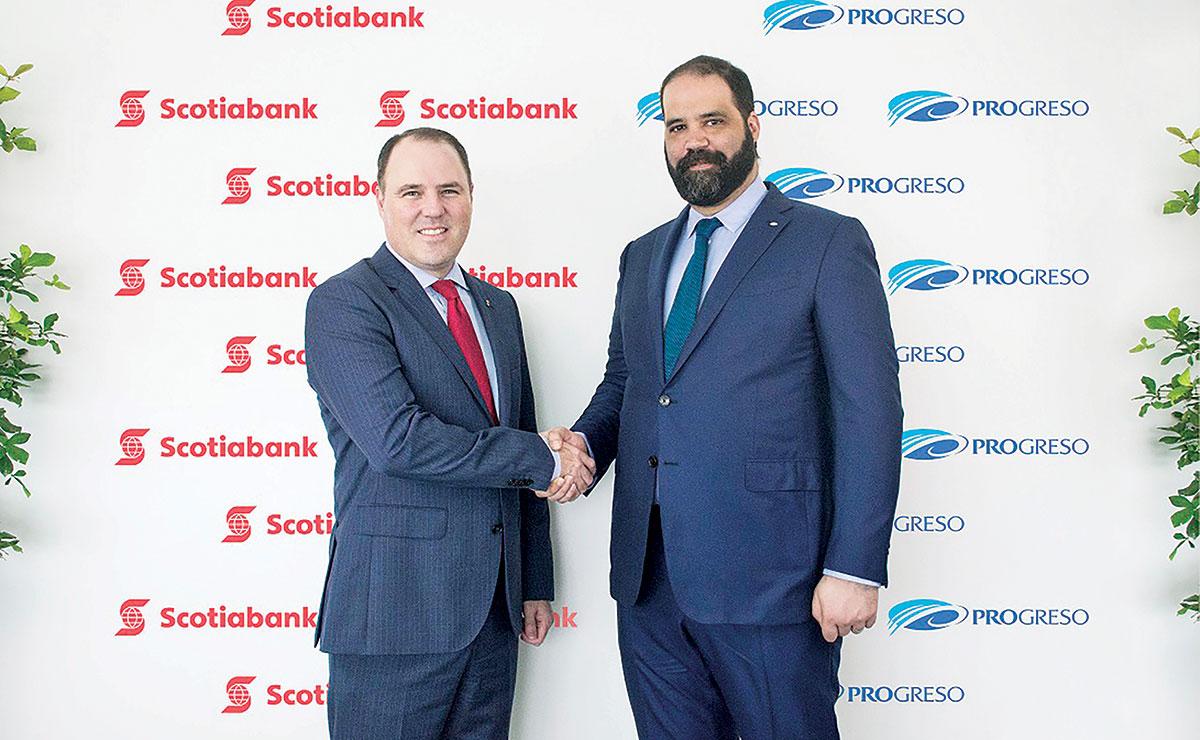 robert williams y juan bautista vicini firma scotiabank