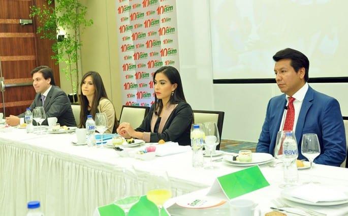 Hans Añaños Alcázar, Katty Añaños Alcázar, Cinthya Añaños Alcázar y Arturo Marroquín Alcázar, principales ejecutivos de Industrias San Miguel.