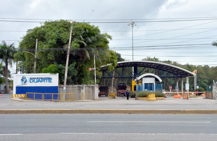parque industrial duarte