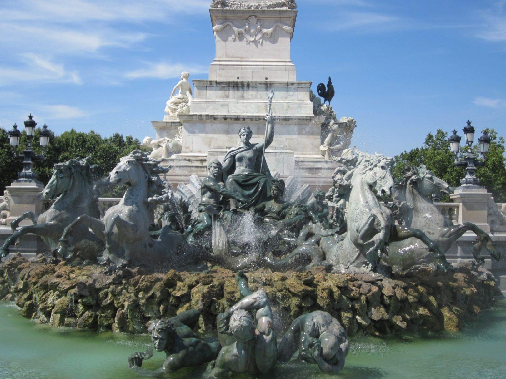 Monument aux Girondins - Burdeos
