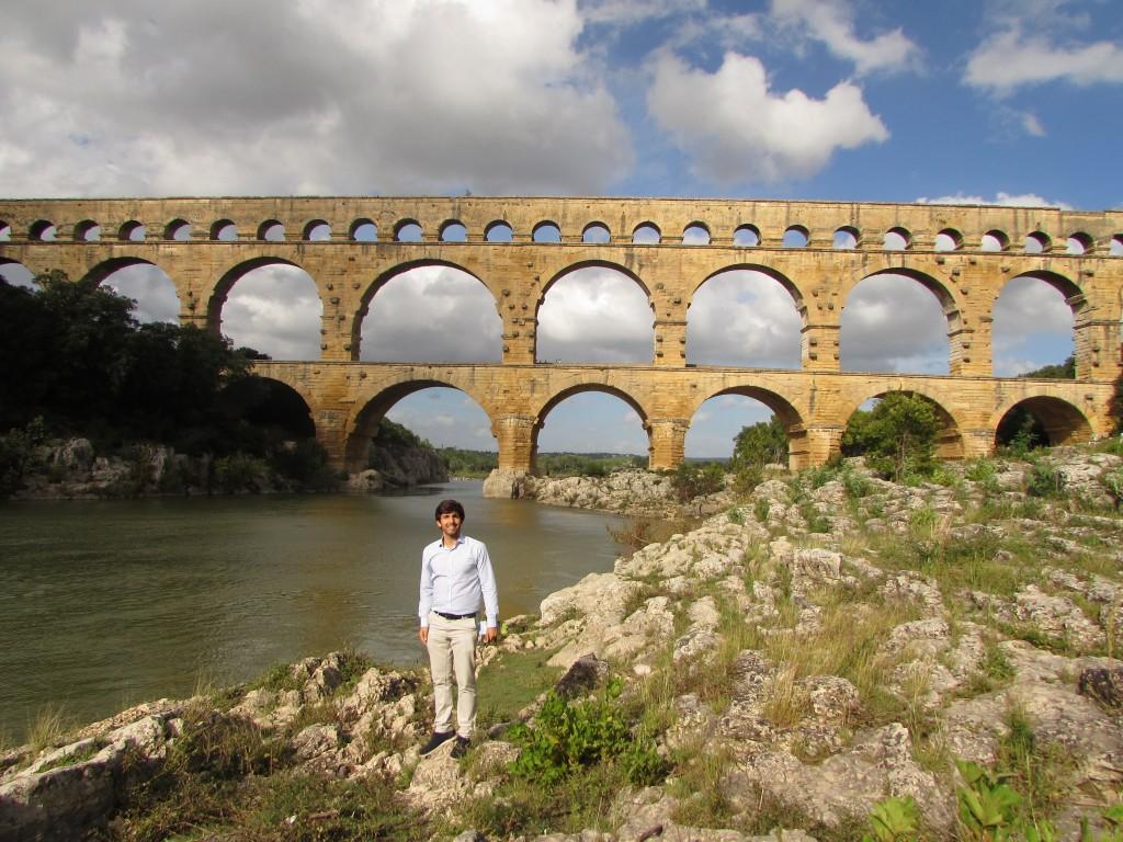 acueducto pont du gard