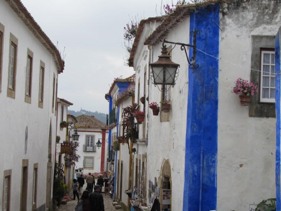 Centro histórico de Óbidos, Portugal