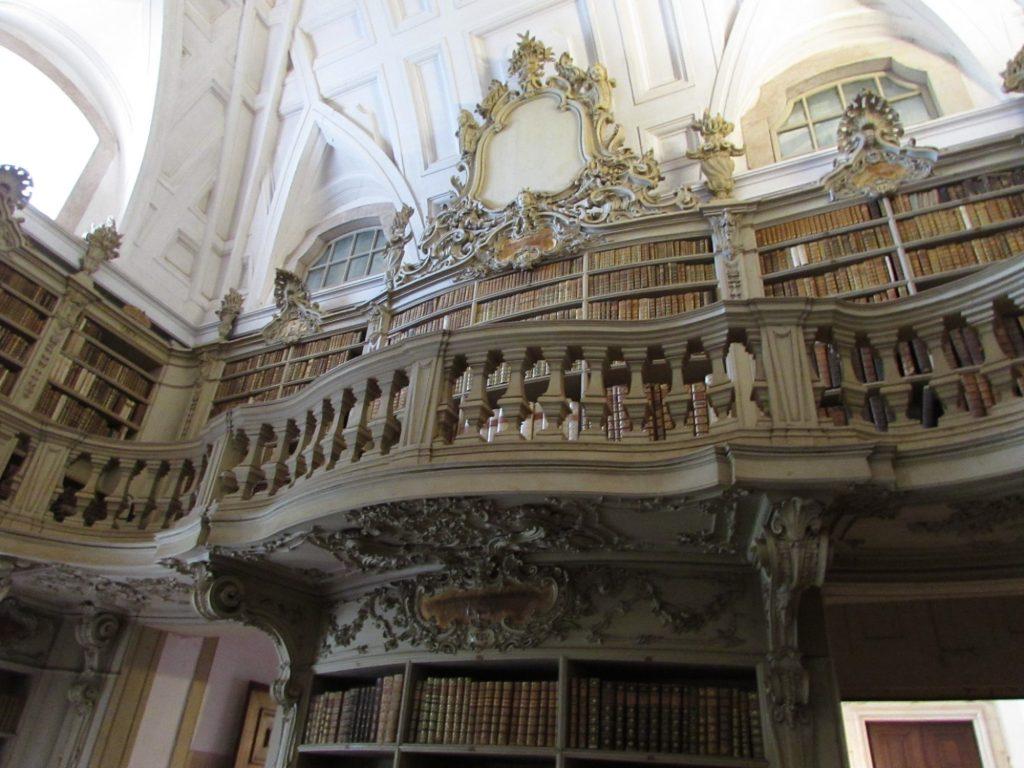Bilblioteca Salón de la Música, Palacio Nacional de Mafra