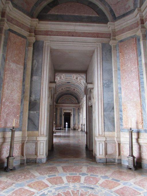 Interior del Palacio Nacional de Mafra