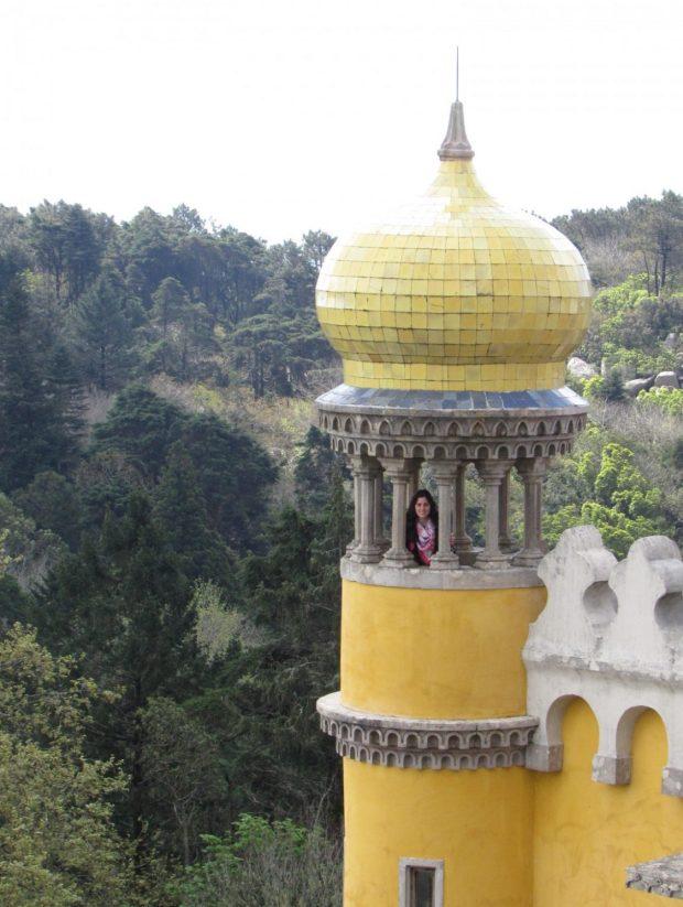 torre islamica palacio da pena