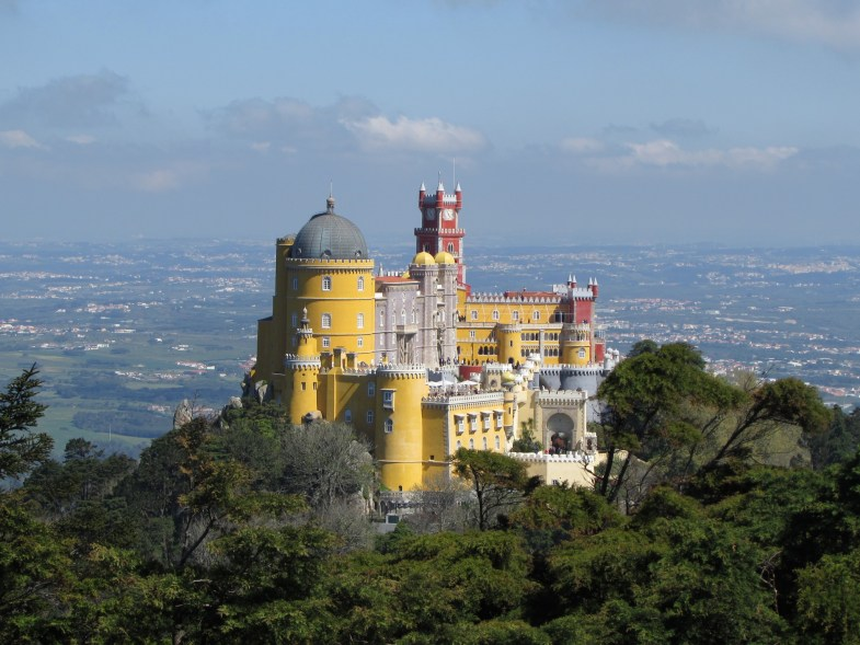 mejores vistas palacio da pena