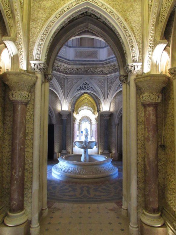 Detalle interior Palacio de Monserrate
