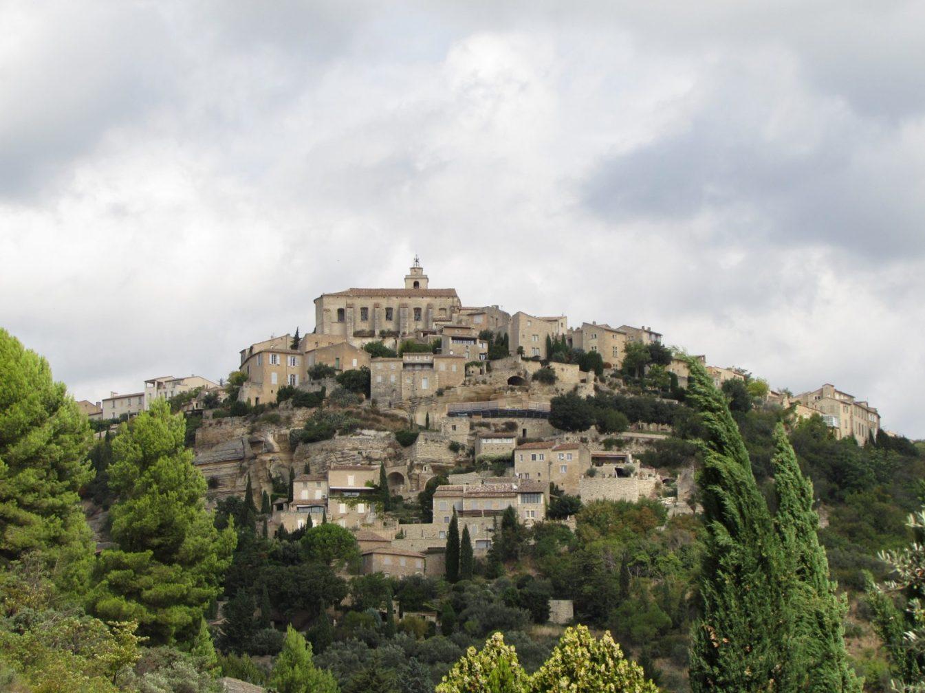 vistas de Gordes provence