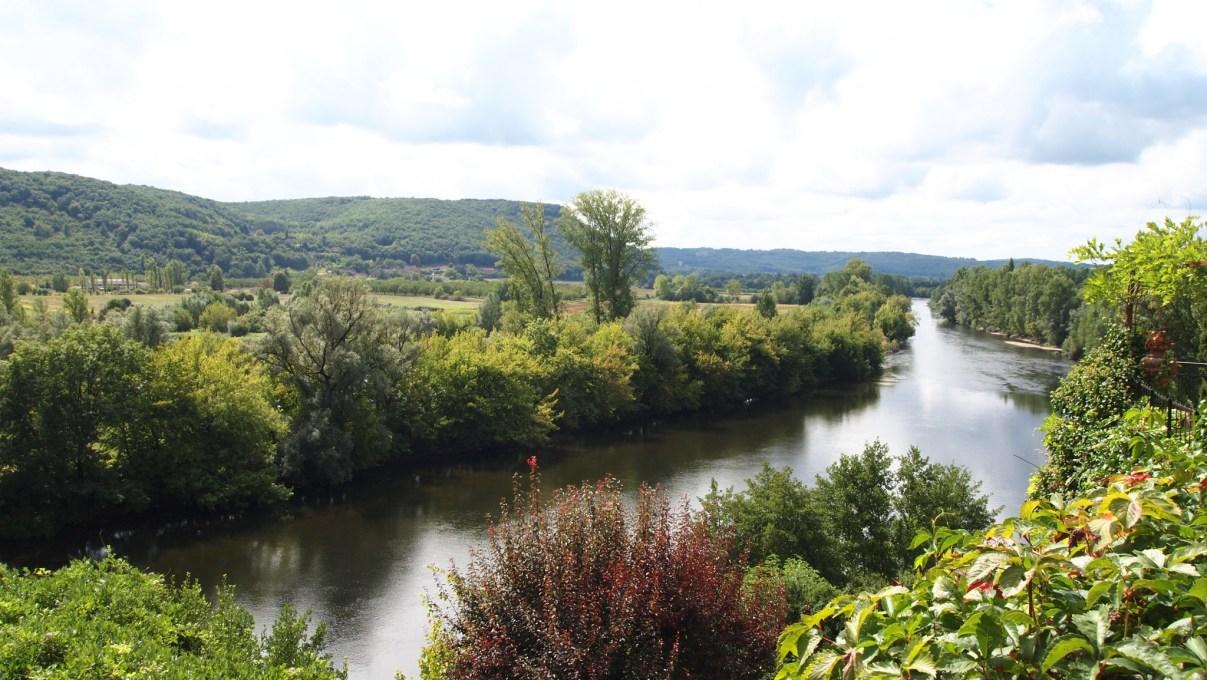 Río Dordoña a su paso por Beynac et Cazenac