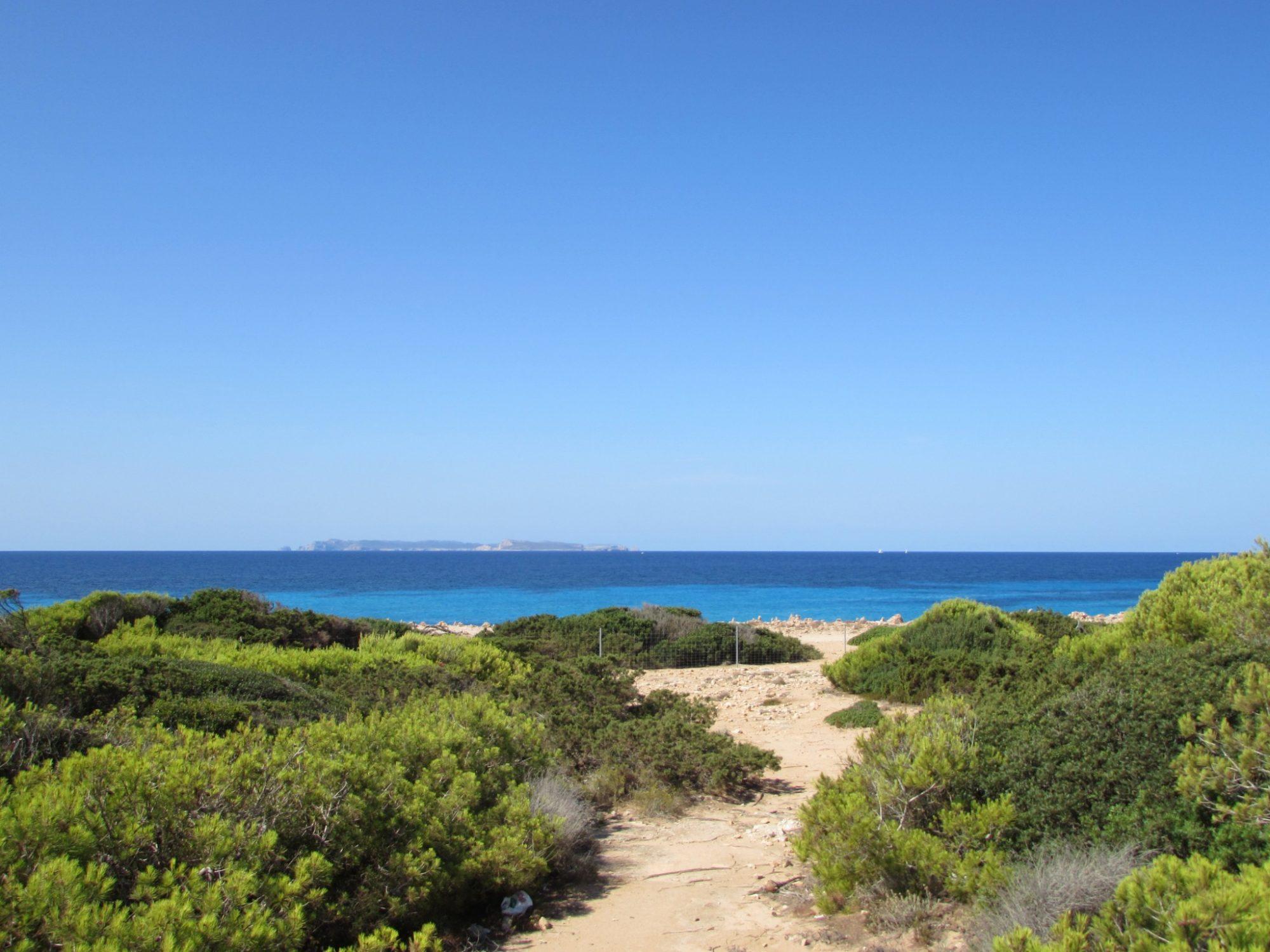 Cómo llegar a la playa de Es Caragol