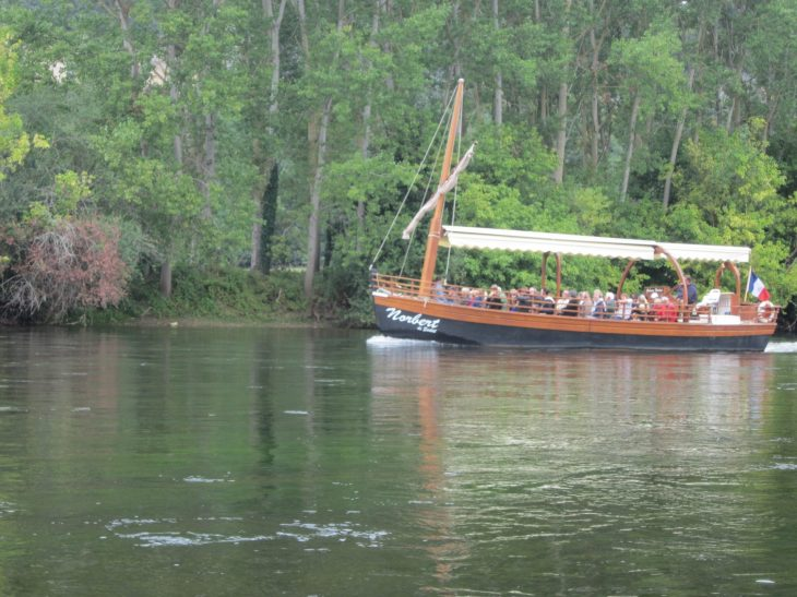 Gabarras en el río Dordoña
