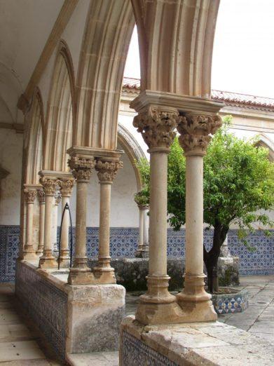 Claustro da Lavagem del Convento de Cristo, Tomar