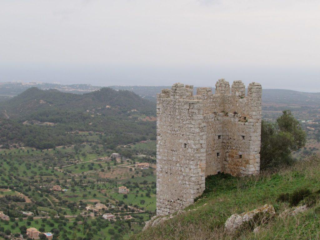 Vistas Castillo de Santueri