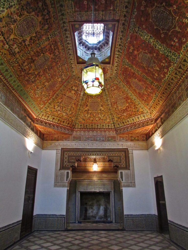 Interior Palacio de Bahia Marrkech