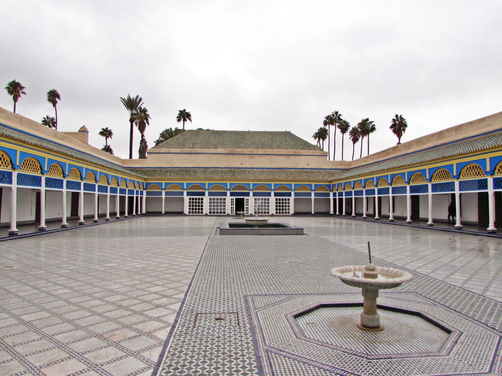 palacio de la bahia marrakech