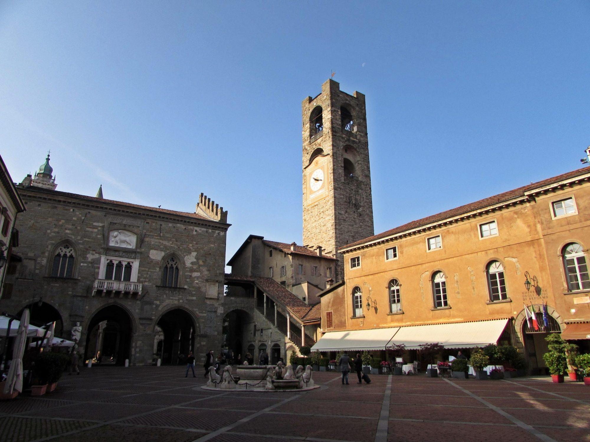 piazza vecchia bérgamo