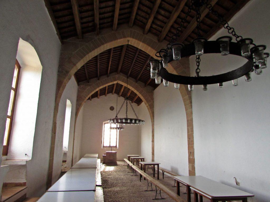 Comedor monasterio Puig de Maria