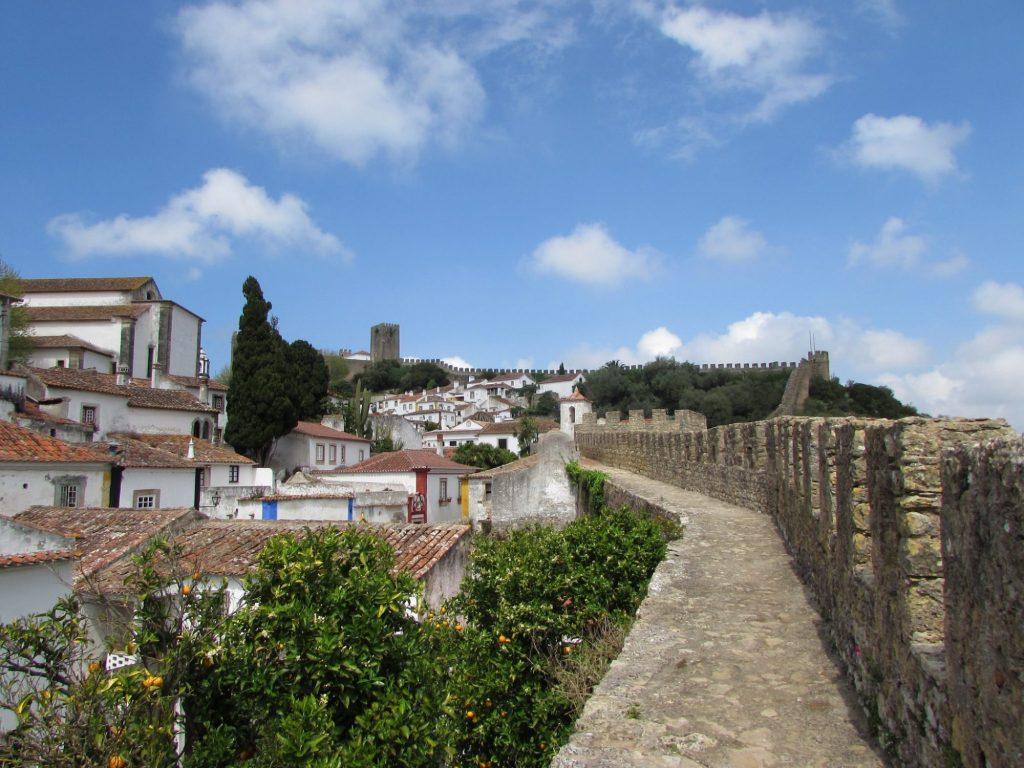 Murallas de la ciudad medieval de Óbidos