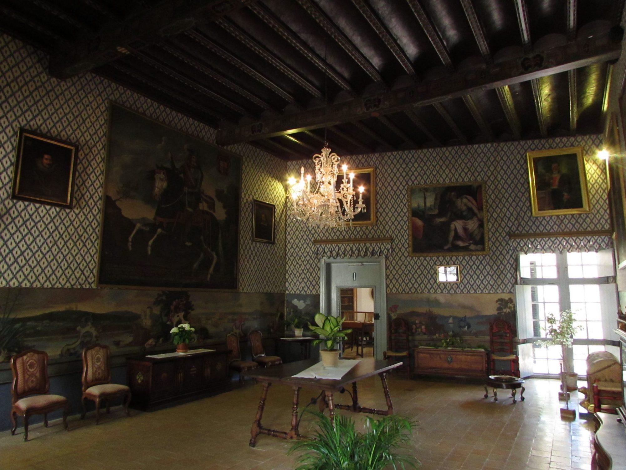 Interior posesión de Alfabia