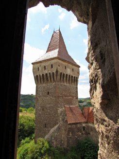 torres castillo de hunyad