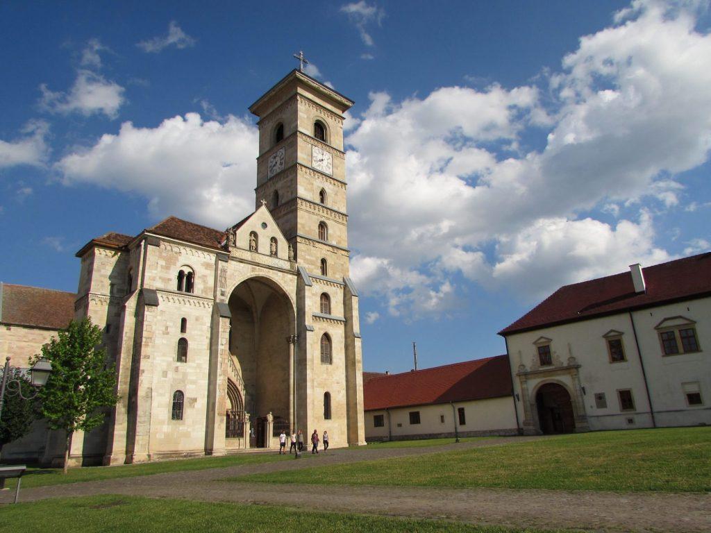 alba iulia rumania iglesia