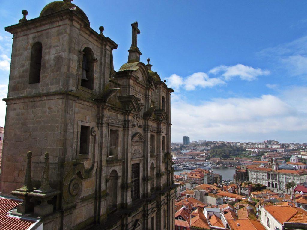 Miradores de Oporto. Mirador de la Iglesia dos Grilos