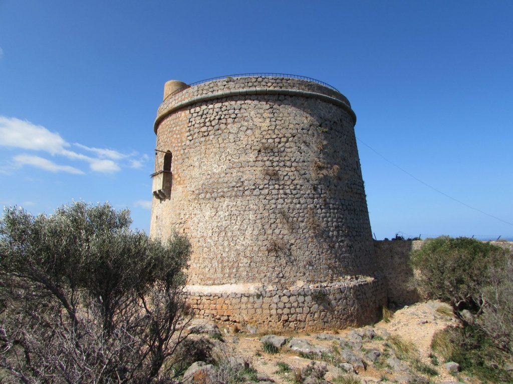Torre Picada, la torre defensiva más grande de Mallorca