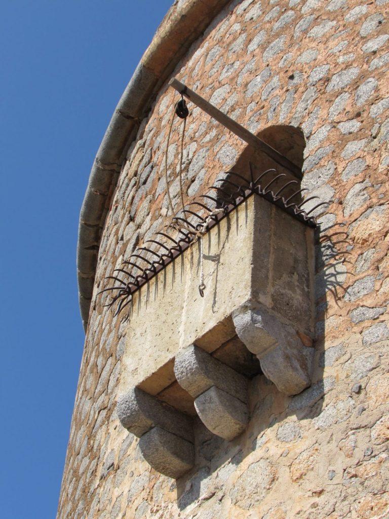 Detalle balcón Torre Picada