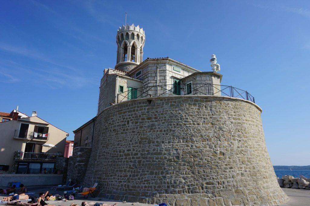 Faro de San Clemente, Piran