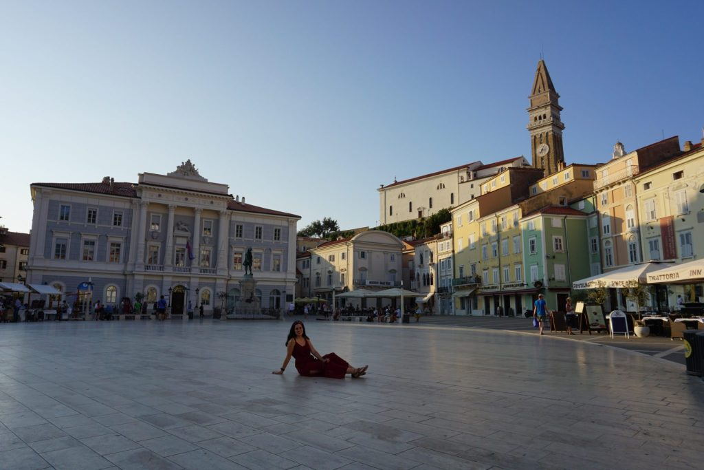 Plaza Tartini - Piran