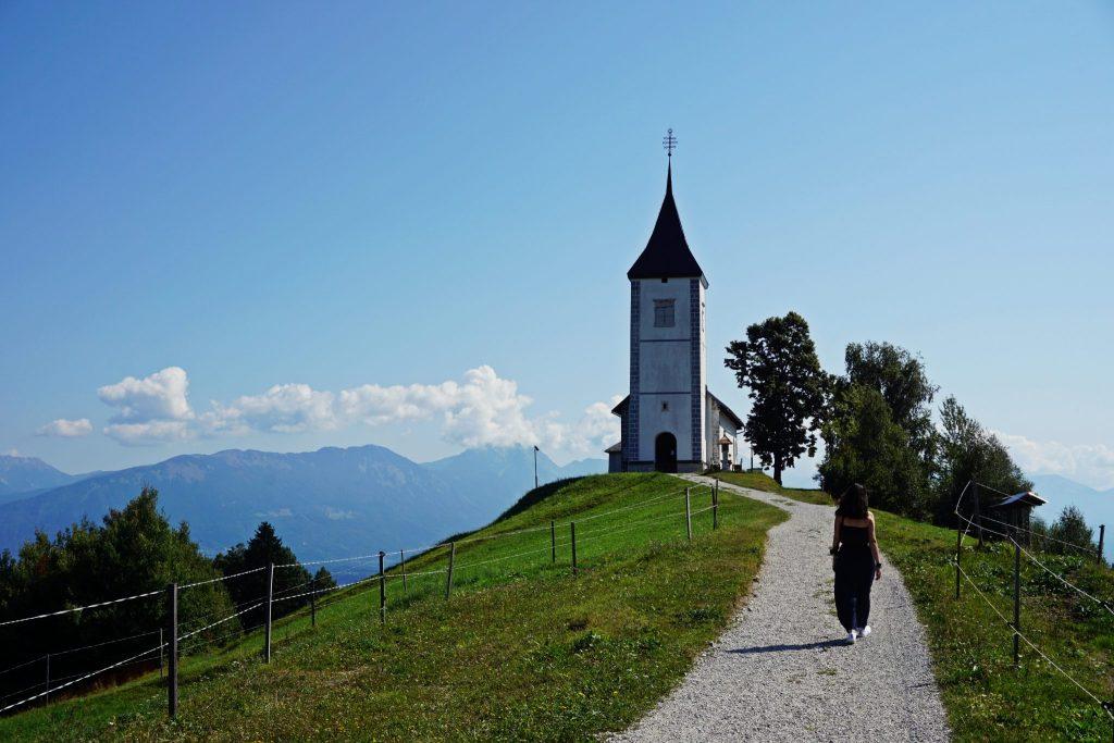 Iglesia de Jamnik - Eslovenia