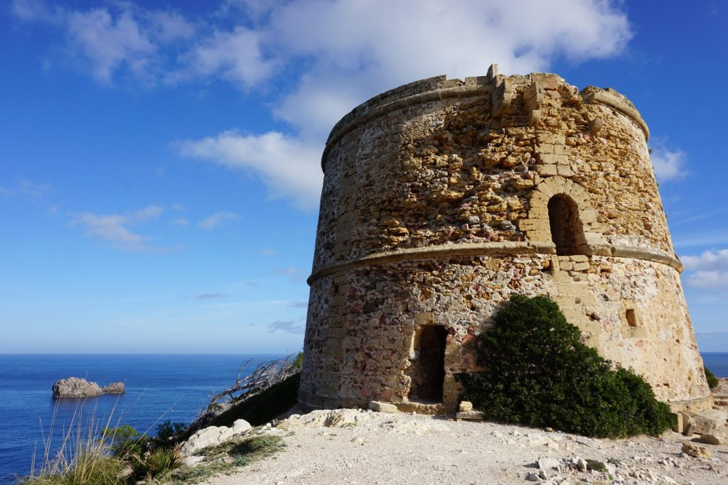 Torre d'Albarca del siglo XVIII