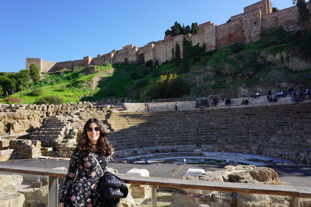 Teatro romano de Málago