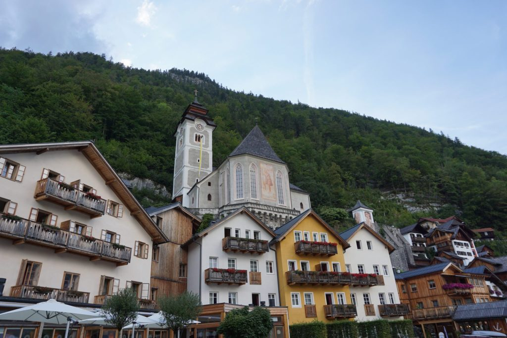 Iglesia católica de Hallstatt
