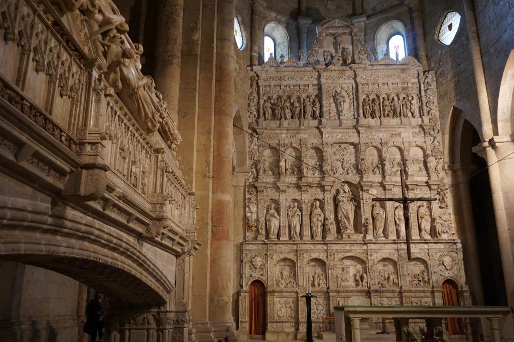 Tumbas reales, monasterio de Poblet